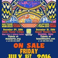 NEW YEARS EVE 2016 SHOW ANNOUNCEMENT! Phil Lesh and Friends in Hawaii!