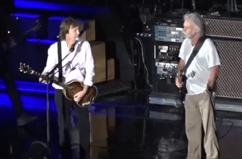 """Grateful Dead's Bob Weir joined Paul McCartney at Fenway """"Helter Skelter"""" (Full Video) Sunday July 17th 2016"""