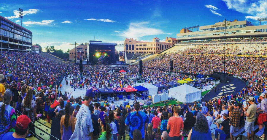SETLIST Dead and Company, Summer Tour 2016 | Folsom Field ...