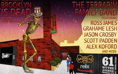 Terrapin Family Band go East, shows at Brooklyn Bowl and Capitol Theatre