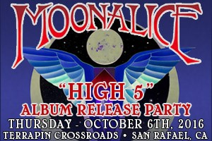 """RELEASE PARTY THIS THURSDAY!  MOONALICE  """"HIGH 5"""" 