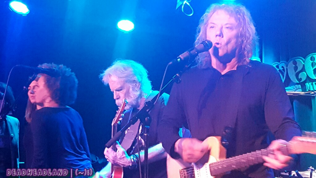 SETLIST: Everyday Miracle: A Benefit for John Perry Barlow ~ Weir, Lennon, Kimock, Claypool, Kang, Chimenti, Harrison ~Mon. Oct. 24, 2016Sweetwater Music Hall, Mill Valley, CA