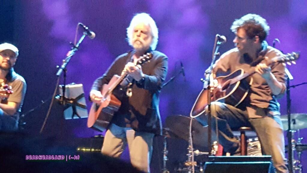MAKE DEADHEADLAND GRATEFUL AGAIN: Bob Weir joined JRAD at the Fox Oakland