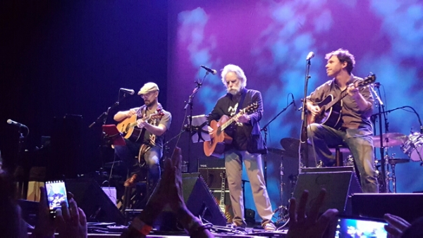 Bob Weir of the Grateful Dead, post Trump Election Statement: A Hard Rain's A-Gonna Fall