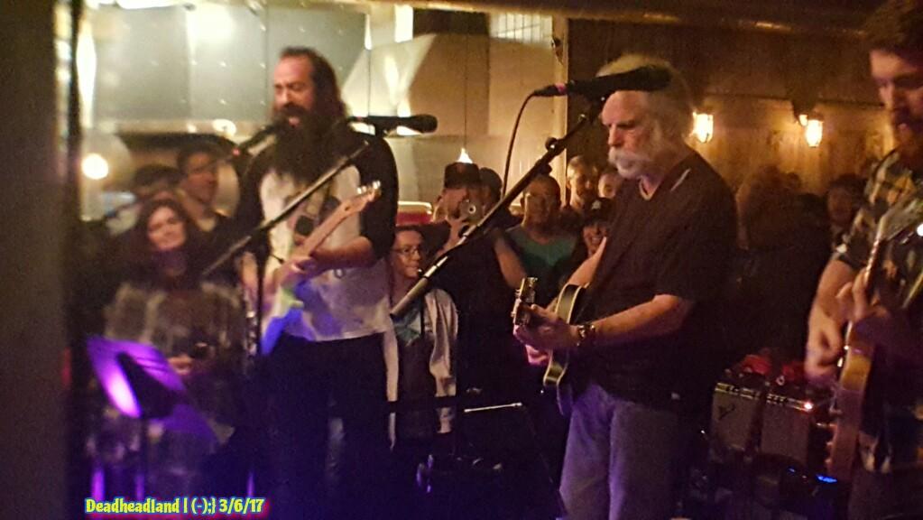 SETLIST Phil Lesh & The Terrapin Family with  Bob Weir   Mon. March 6, 2017   Terrapin Crossroads San Rafael, CA ~ 5th Anniversary Celebration!