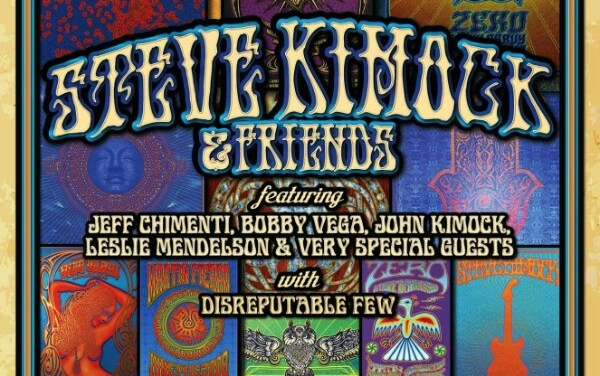 "On sale NOW  ""Art & Soul – A Concert to Benefit Dave Hunter featuring Steve Kimock & Friends @ GAMH   w/ Disreputable Few""!"