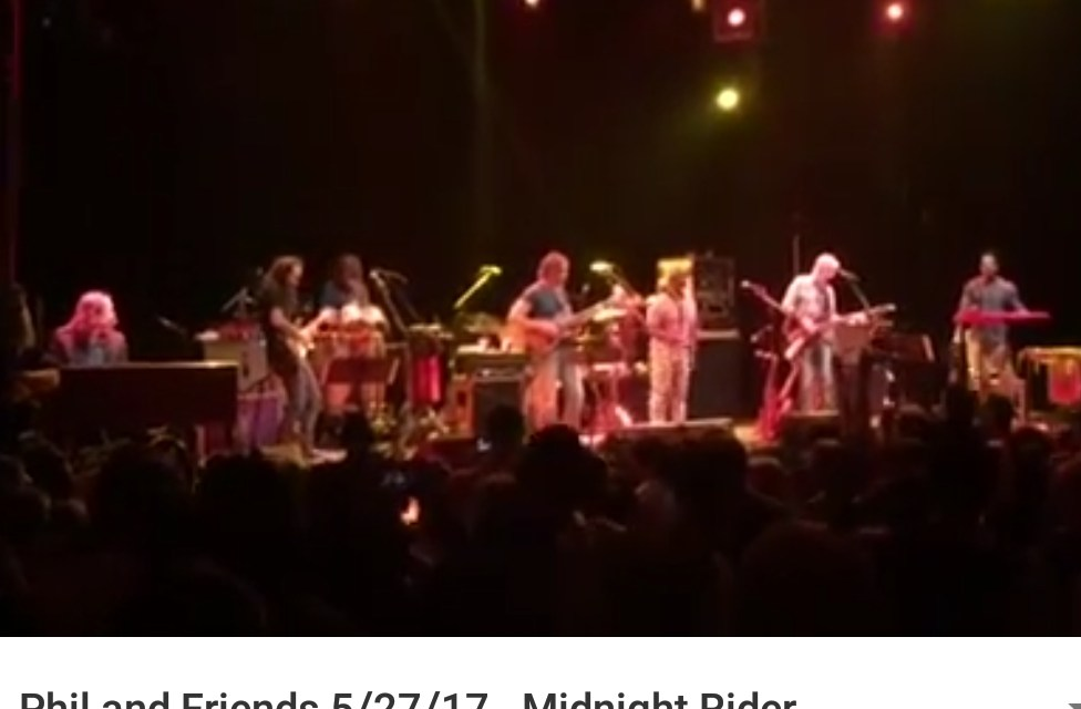 """Phil Lesh and Friends – In Memory of Gregg Allman """"Midnight Rider"""" Saturday May 27 2017, Capitol Theatre Port Chester NY"""