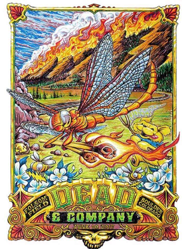 dead and company setlist saturday june 10 2017 folsom field boulder colorado deadheadland. Black Bedroom Furniture Sets. Home Design Ideas