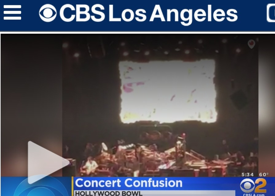 """Security scare at Dead and Company, Hollywood Bowl during """"He's Gone"""""""