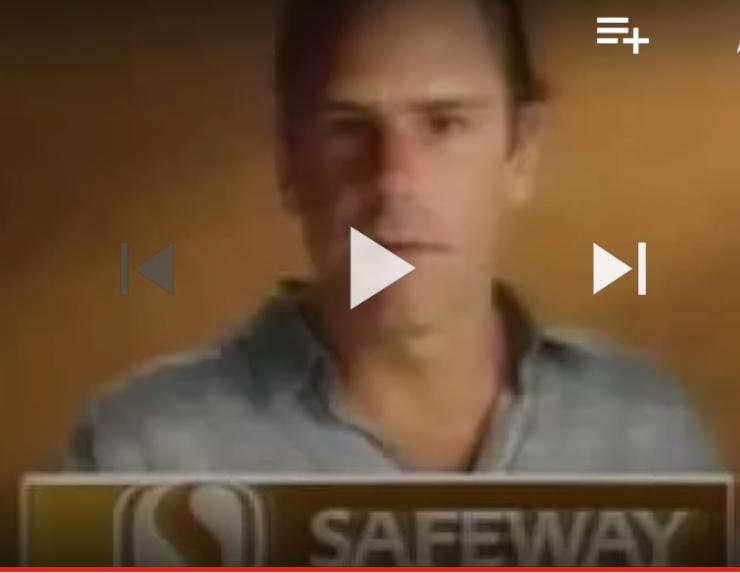 "Watch ""Safeway Supermarket Commercial feat. Bob Weir of the Grateful Dead"""
