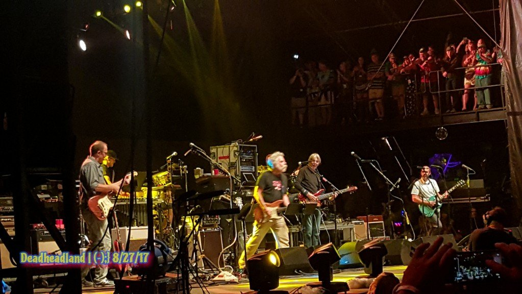 Bob Weir, Grahame Lesh, Nicki Bluhm and the Revivalists joinedPhil.moe Lockn' Festival Arrington, VA  Sunday, August 27, 2017