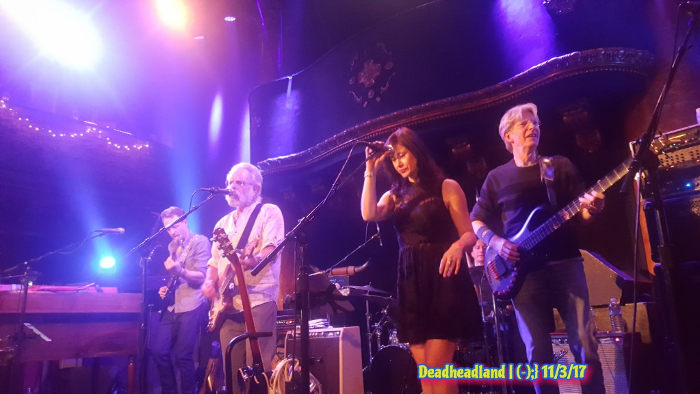 SETLIST & VIDEO: Midnight North w Bob Weir, Phil Lesh, Mihali Savoulidis, Ryan Dempsey at Great American Music Hall, November 3rd 2017