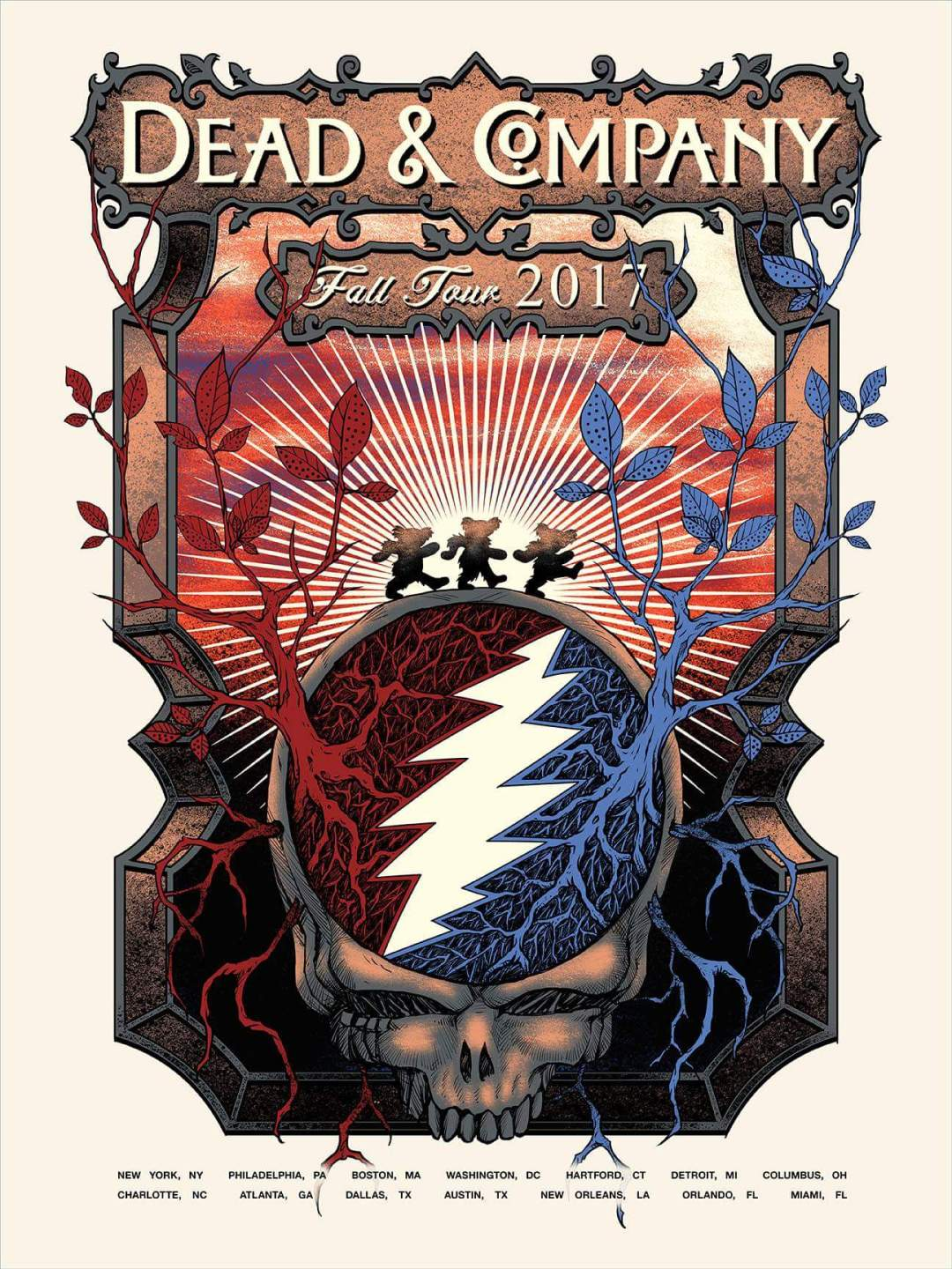 deadheadland dead and company setlist sunday november 12 2017 madison square. Black Bedroom Furniture Sets. Home Design Ideas
