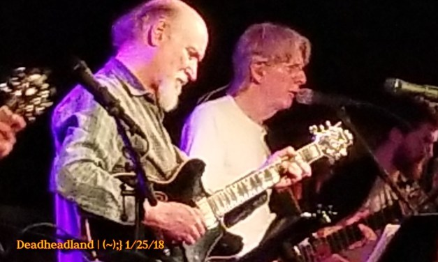 Setlist & Video: Phil Lesh and Friends, Thursday, January 25, 2018 | John Scofield, Anders Osborne, John Molo, Jeff Chimenti, Grahame Lesh, Alex Koford
