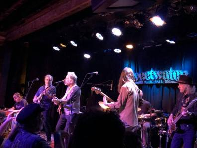 Bob Weir sits in with the Green Leaf Rustlers at the Sweetwater in Mill Valley.