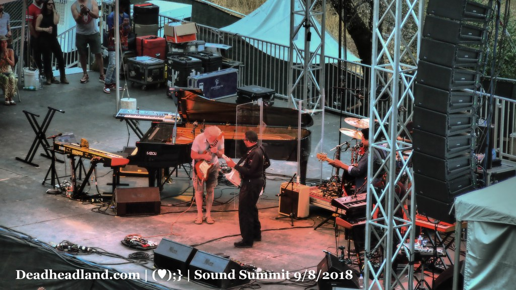Bob Weir joins Herbie Hancock and band at Sound Summit 2018 on Mt. Tamalpais