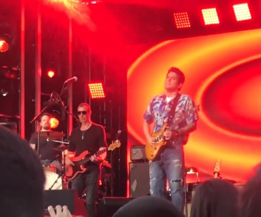 "Watch Dead and Company's John Mayer perform Grateful Dead's ""Fire On The Mountain"" September 18,  Jimmy Kimmel Live"