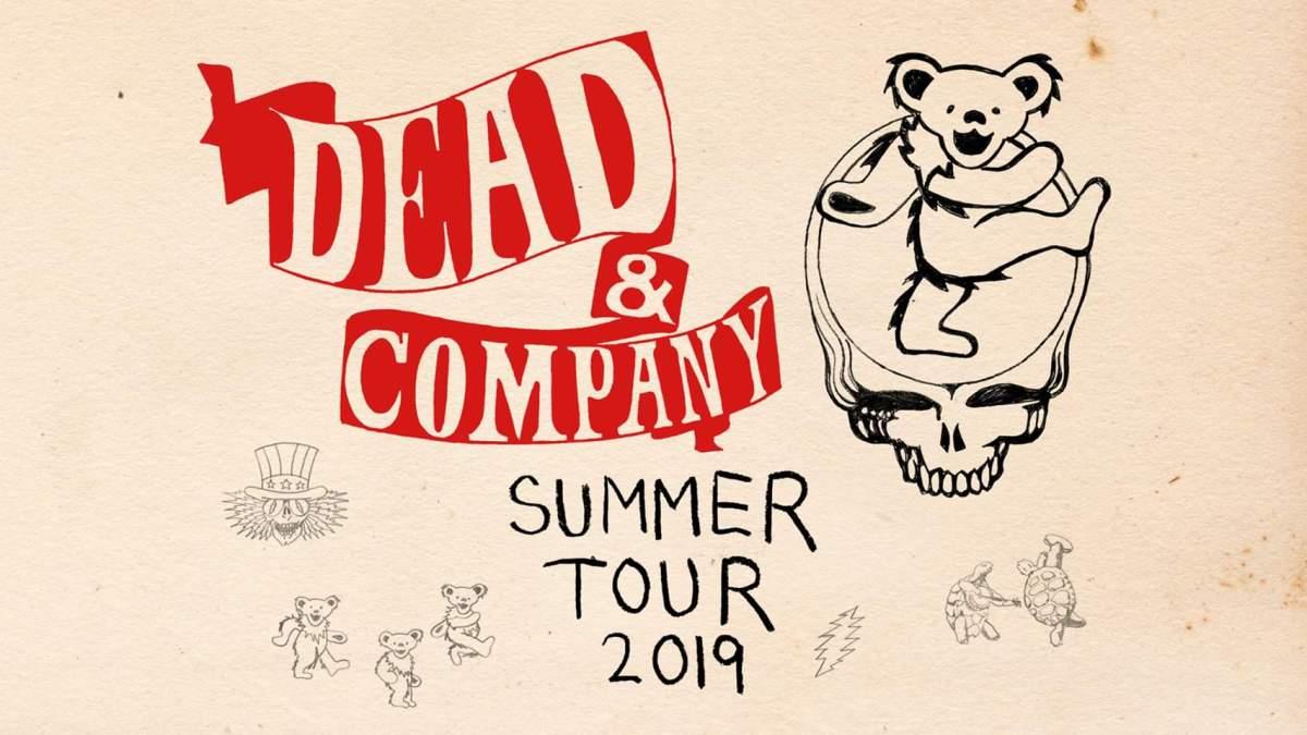 Dead and Company Summer Tour 2019 dates announced! #deadandcompanySummerTour2019 #SummerTour2019
