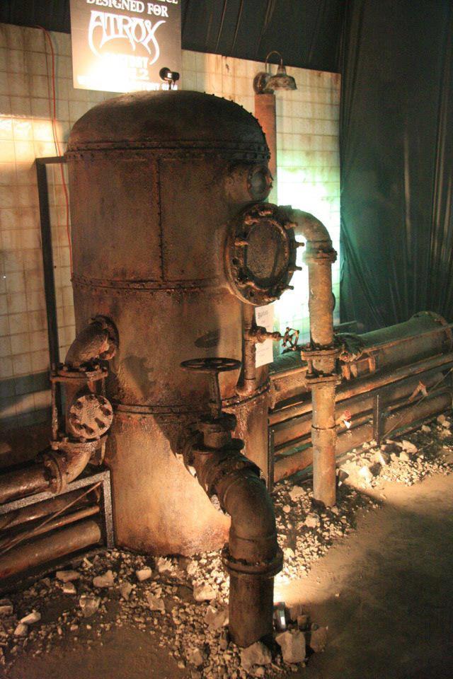 Dead House Designs Boiler