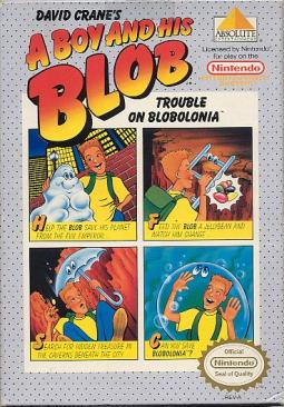 A Boy and His Blob (Cover)