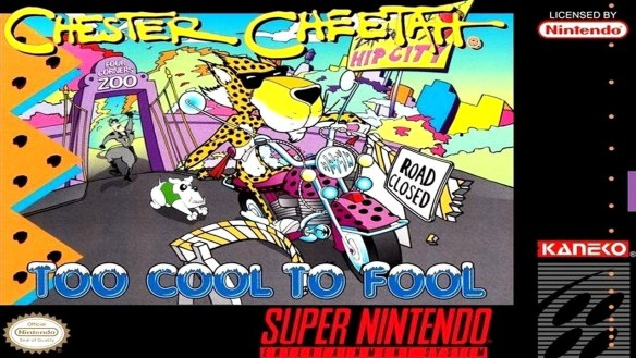 Chester Cheetah Too Cool To Fool (Cover)