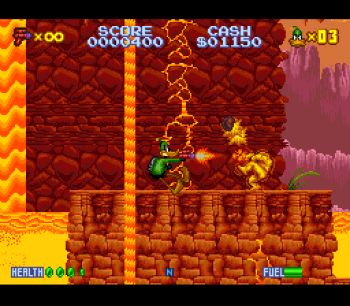 Daffy Duck Marvin Missions SNES - 04
