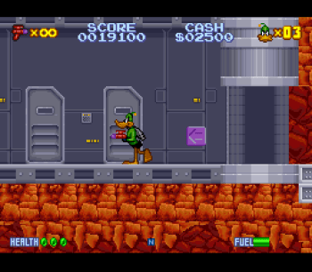 Daffy Duck Marvin Missions SNES - 09