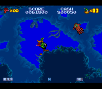 Daffy Duck Marvin Missions SNES - 12