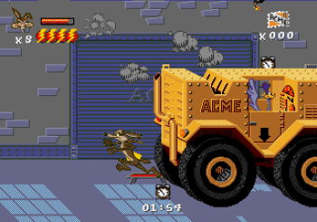 Desert Demolition Starring Road Runner and Wile E Coyote (Genesis) - 19