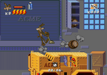 Desert Demolition Starring Road Runner and Wile E Coyote (Genesis) - 21