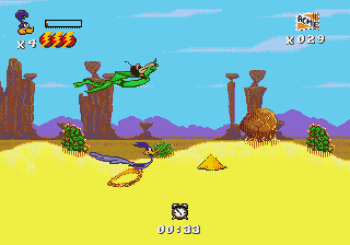 Desert Demolition Starring Road Runner and Wile E Coyote (Genesis) - 25