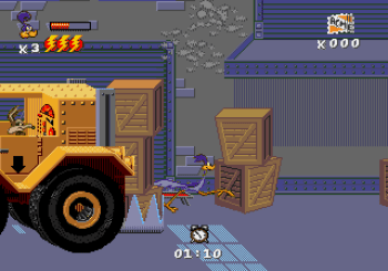 Desert Demolition Starring Road Runner and Wile E Coyote (Genesis) - 34