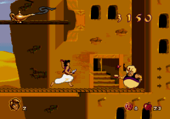 Disney's Aladdin Genesis - 03