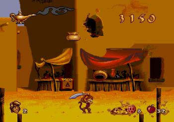 Disney's Aladdin Genesis - 07