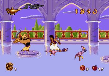 Disney's Aladdin Genesis - 52