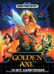 Golden Axe FrontCover