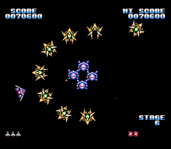 Gyruss (NES) - 11