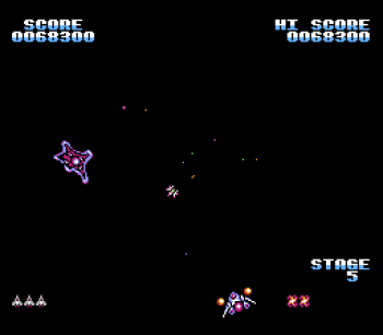 Gyruss (NES) - 12