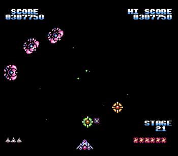 Gyruss (NES) - 32