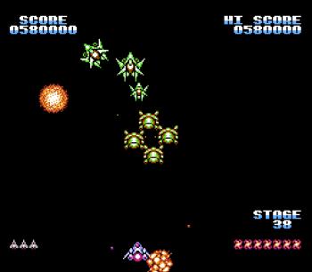 Gyruss (NES) - 55