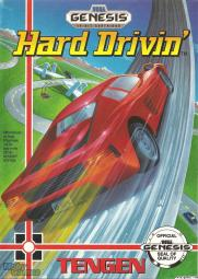 Hard Drivin' Box Art