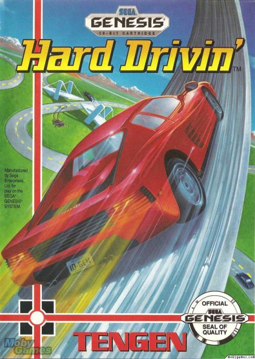 Hard Drivin' Box Art