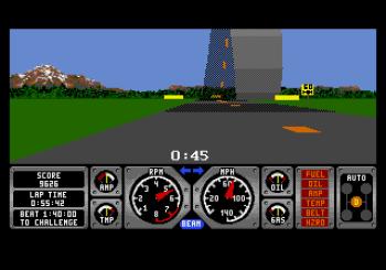 Hard Drivin' (Genesis) - 04