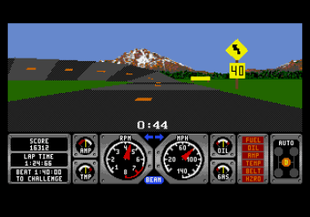 Hard Drivin' (Genesis) - 05