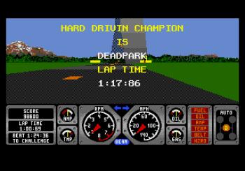 Hard Drivin' (Genesis) - 12