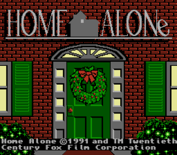 Home Alone NES - 01
