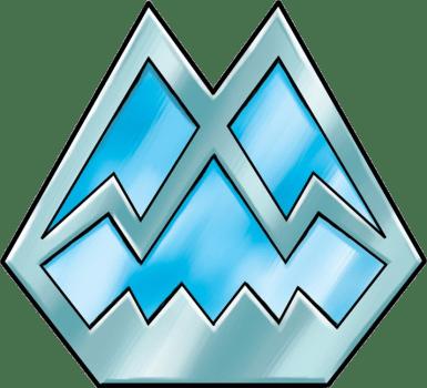 Icicle Badge