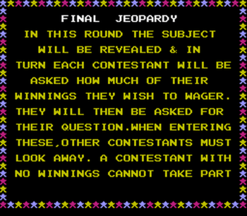 Jeopardy! Junior Edition (NES) - 16