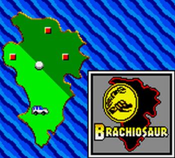 Jurassic Park (Game Gear) - 34