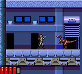 Jurassic Park (Game Gear) - 60